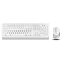 A4-Tech F1010 Beyaz Usb Klavye Mouse Set - Mm - 1