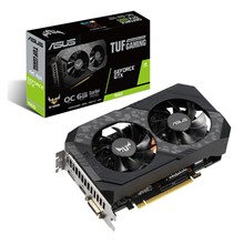 Asus Geforce Gtx 1660 6Gb Tuf Oc Gdr5 192Bit - 1