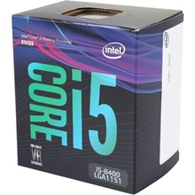 Intel Coffee Lake İ5 8400 2.8Ghz 1151 9M Box - 1