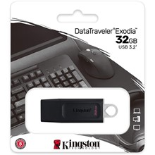 Kingston 32Gb Exodia Usb 3.2 Gen1 Dtx/32Gb - 1
