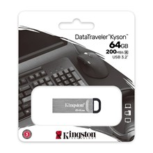 Kingston 64Gb Dt Kyson Usb 3.2 Gen1 Dtkn/64Gb - 1