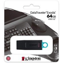 Kingston 64Gb Exodia Usb 3.2 Gen1 Dtx/64Gb - 1