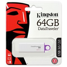 Kingston 64Gb Usb 3.0 Bellek Dtıg4/64Gb - 1