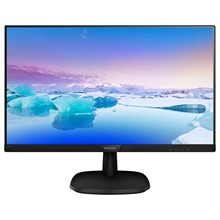 "Philips 27"" 273V7Qdsb/01 5Ms Dvi-D Hdmi Siyah Ips - 1"