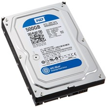 "Wd 500Gb 3.5"" 7200Rpm 32Mb Blue Wd5000Azlx - 1"